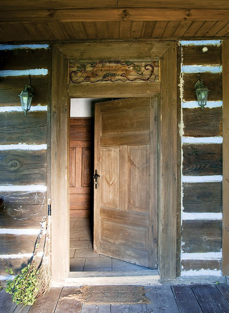 adelaparvu.com about old log house Photo  Marek Szymanski, Weranda Country (4)