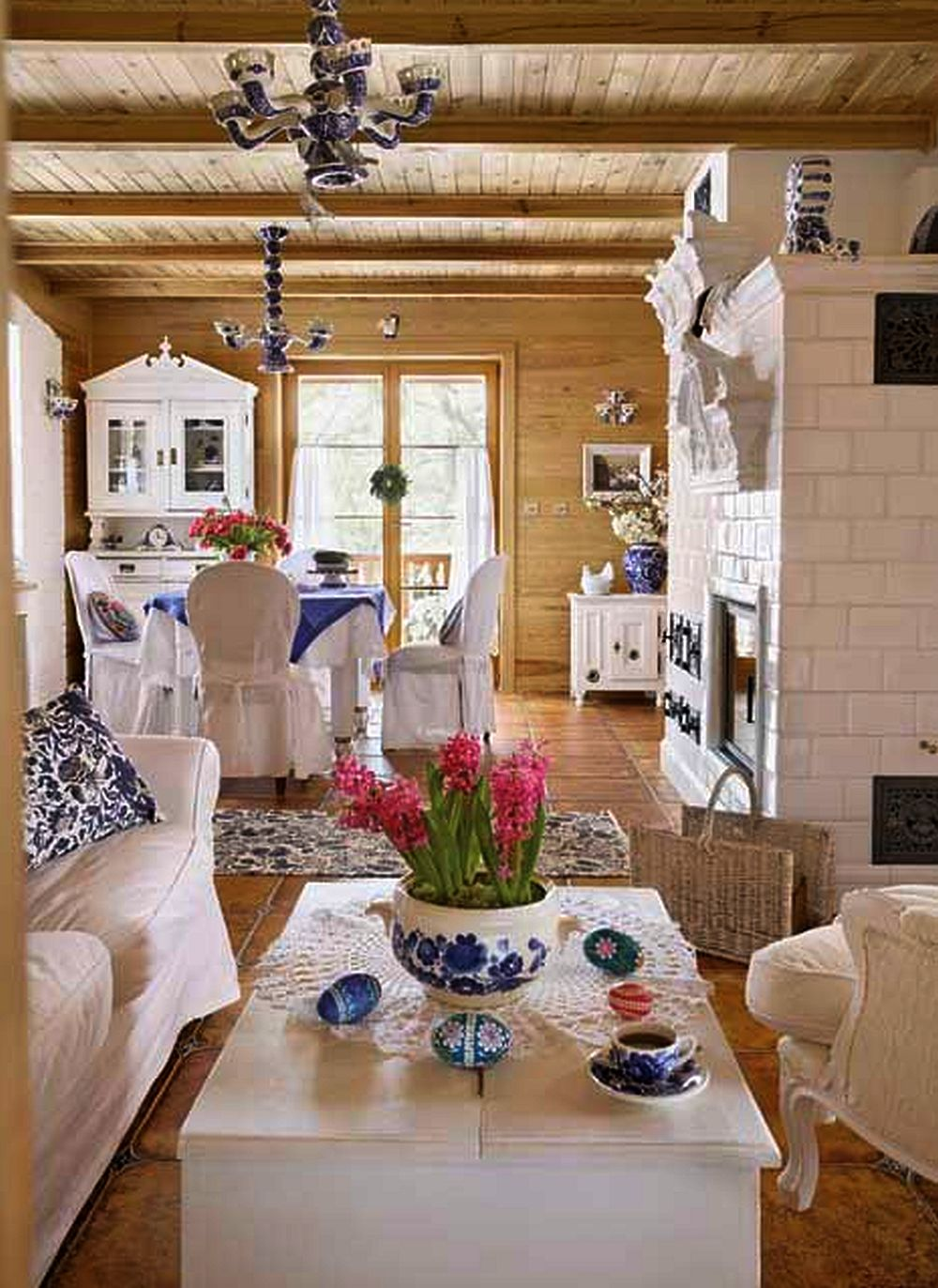 adelaparvu.com about rustic house in white and blue Photo Aneta Tryczynska(4)