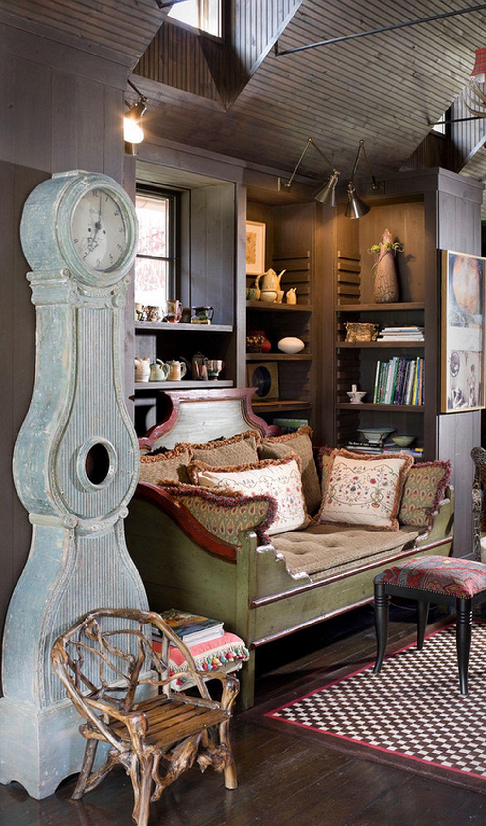 adelaparvu.com  casa de lemn cu interior de poveste Design Rufenacht Interiors Foto Rob Greenspan (5)