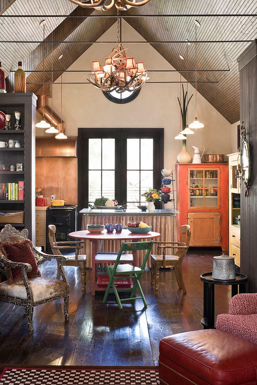 adelaparvu.com  casa de lemn cu interior de poveste Design Rufenacht Interiors Foto Rob Greenspan (8)