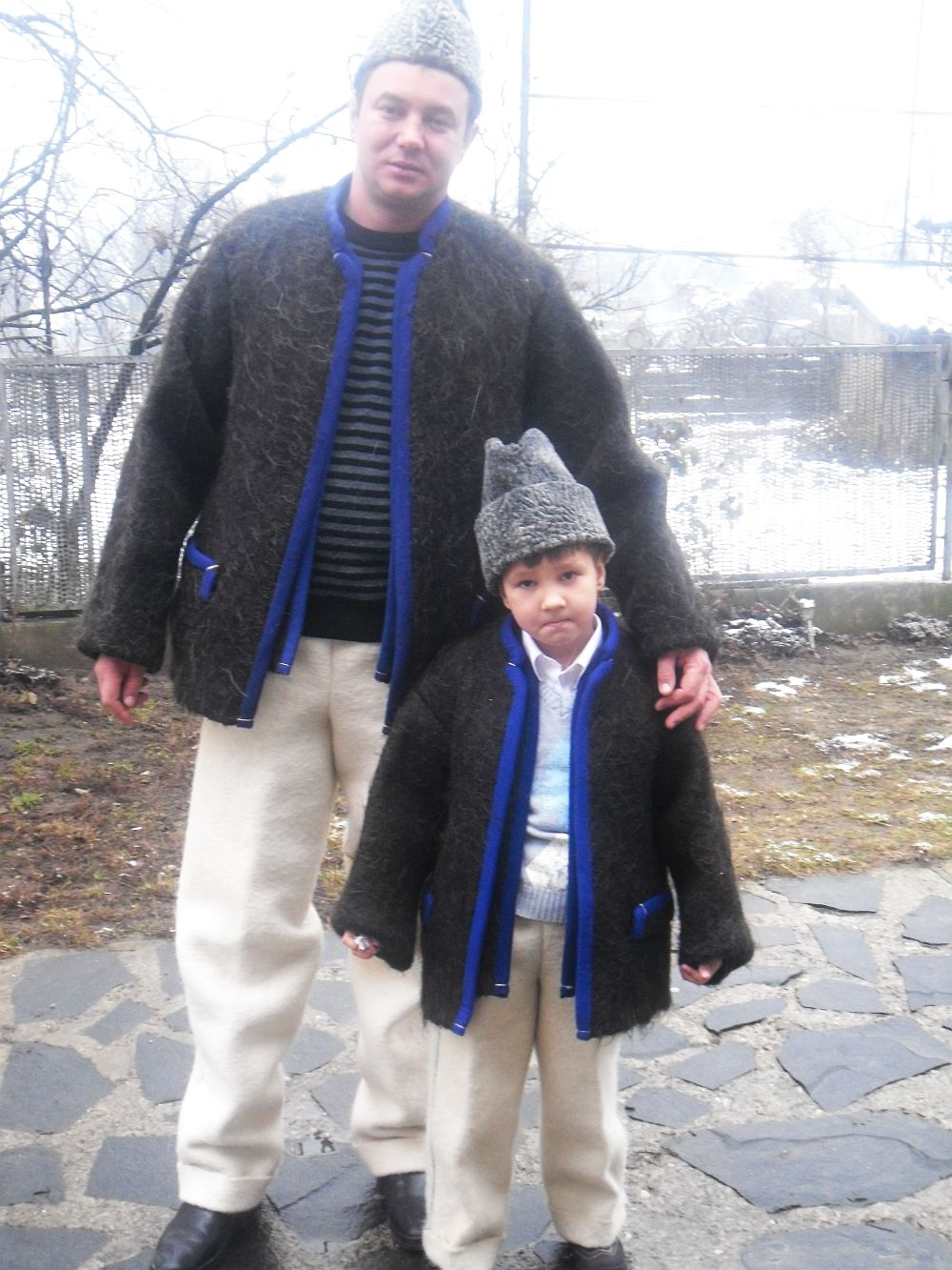 Cei doi Grigore Pop, senior și junior :)