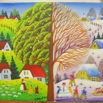 adelaparvu.com despre Petru Mihut pictor naiv (11)