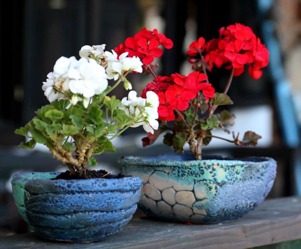 Ghivece de flori, adevarate opere de arta ceramica