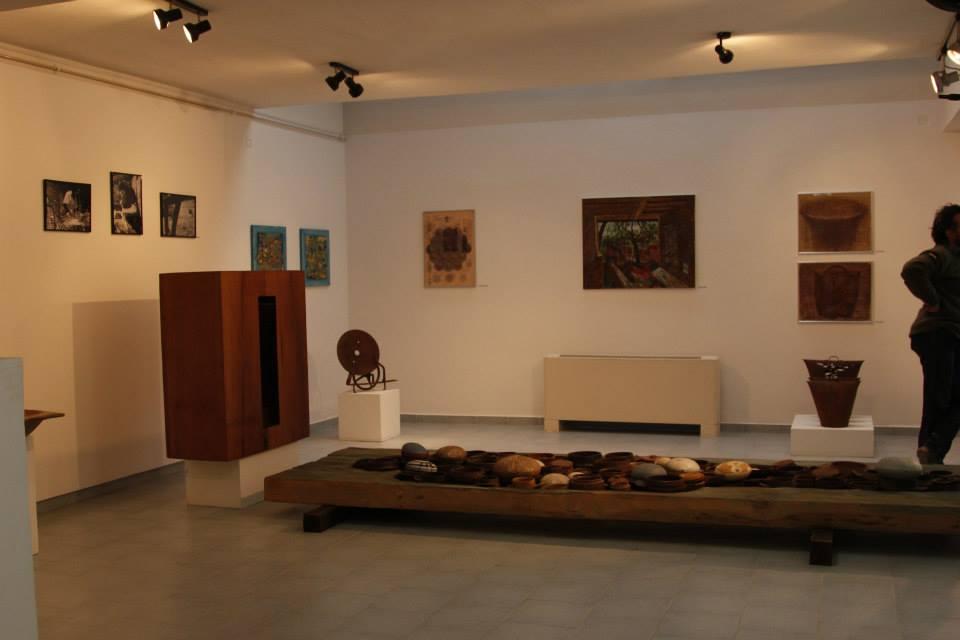 "Expozitia de arta contemporana""URMA""- SOCOLARI- editia I la Muzeul de arta comparata Sangeorz-Bai"