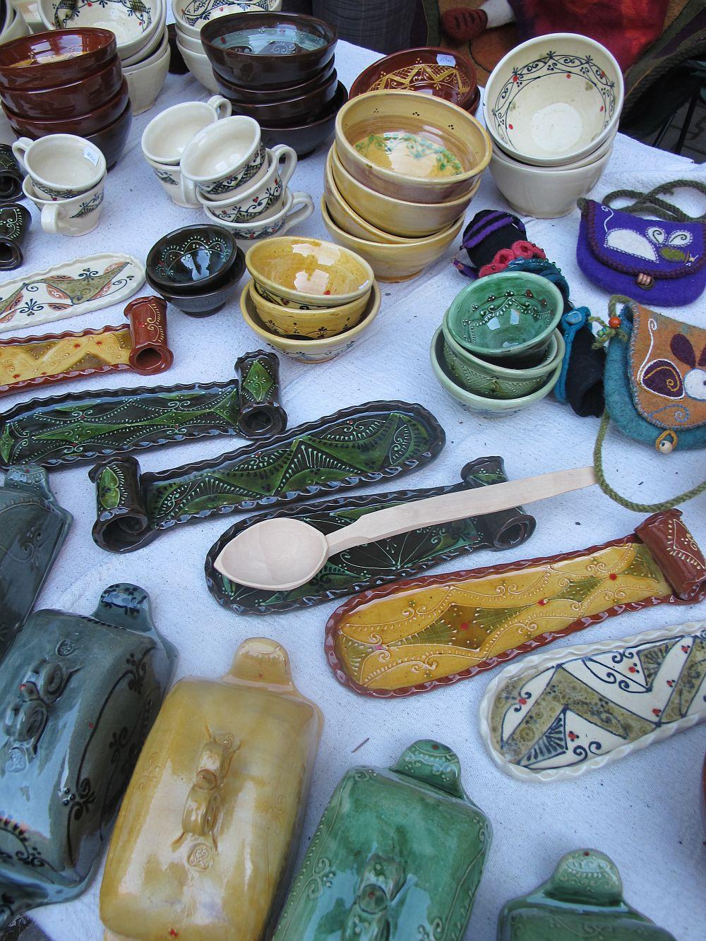 adelaparvu.com despre lampi ceramica si obiecte fetru Kolozsi Ildi (14)