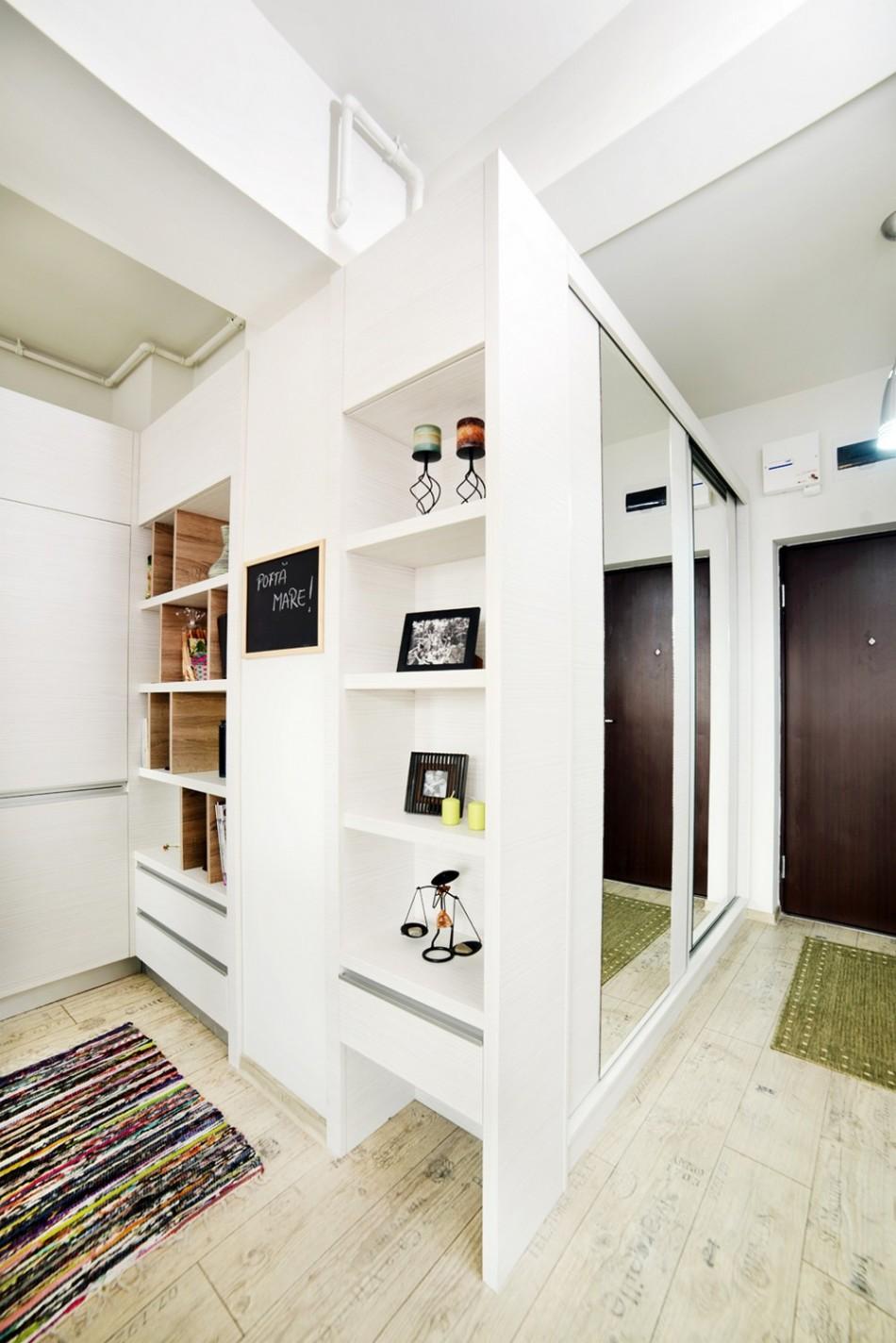 adelaparvu.com despre locuinta 40 mp Designer Cristina Bordoiu (5)