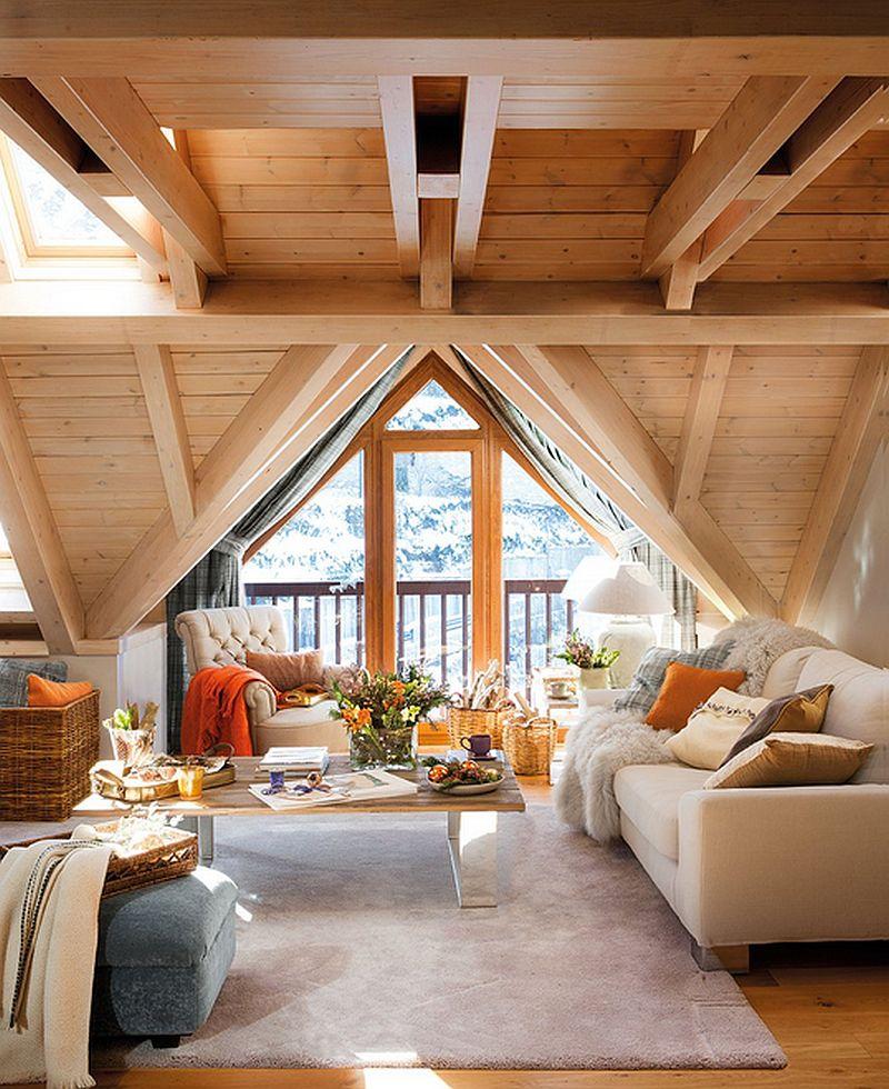 adelaparvu.com mountain cabin architecture Era Carrola, interior design Carolina Juanes (1)