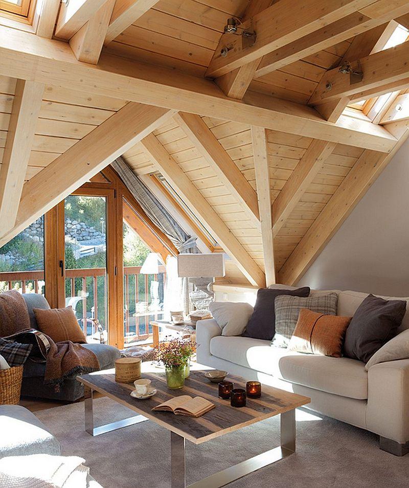 adelaparvu.com mountain cabin architecture Era Carrola, interior design Carolina Juanes (2)