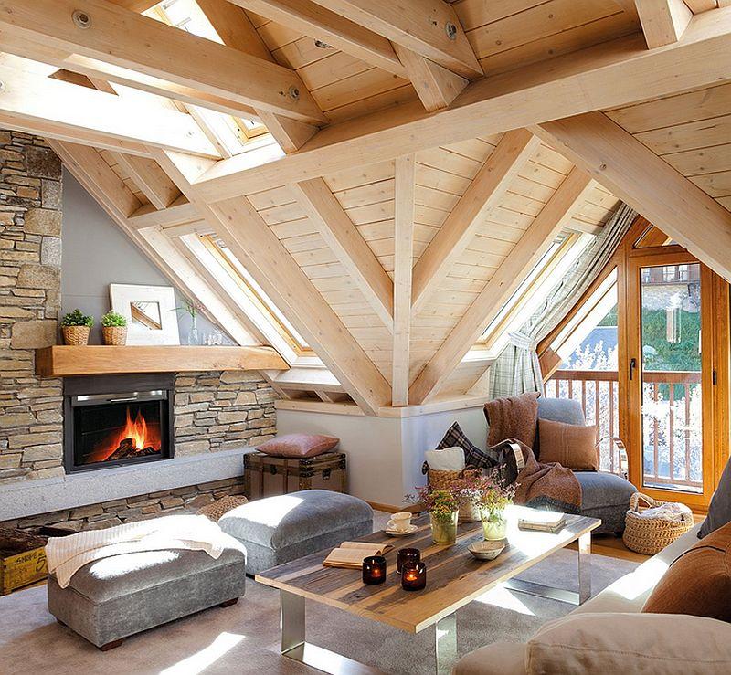 adelaparvu.com mountain cabin architecture Era Carrola, interior design Carolina Juanes (3)