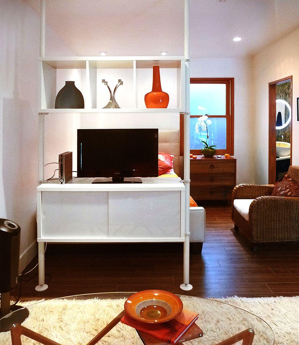 adelaparvu.com un garaj transformat in garsoniera Design Debbie Gliksman Urban Oasis (1)