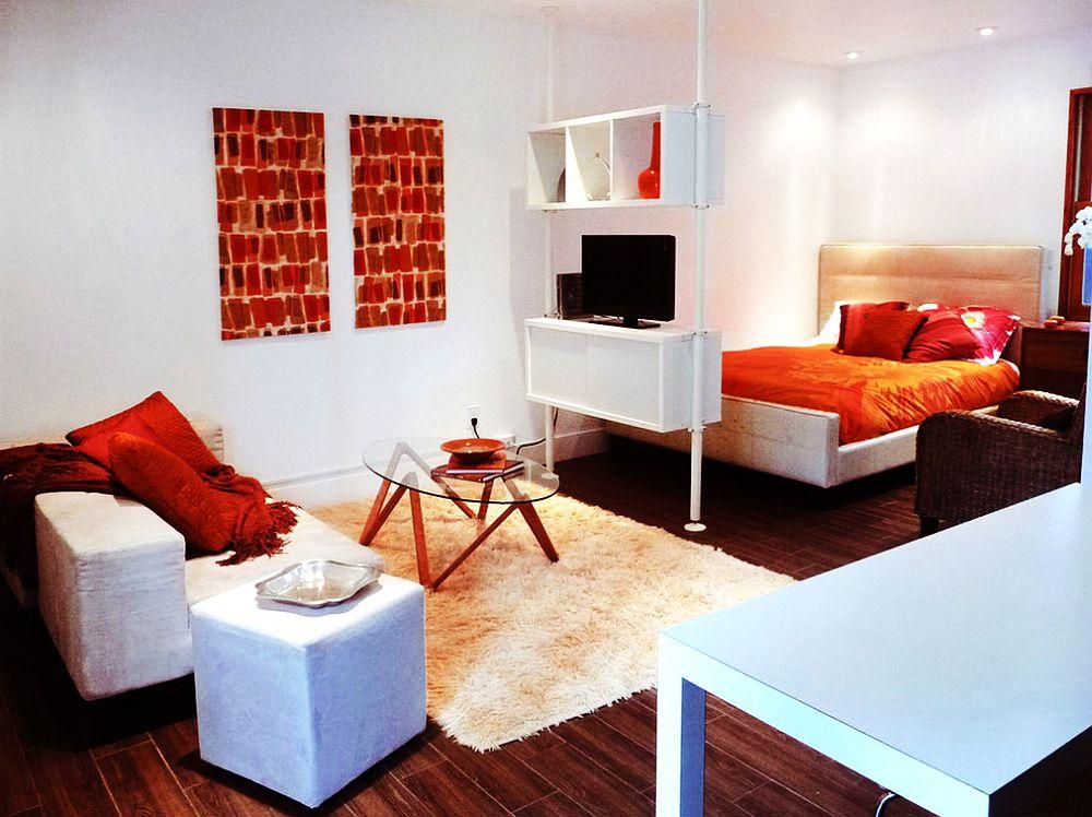 adelaparvu.com un garaj transformat in garsoniera Design Debbie Gliksman Urban Oasis (3)