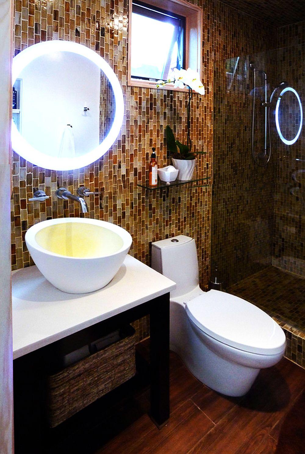 adelaparvu.com un garaj transformat in garsoniera Design Debbie Gliksman Urban Oasis (6)
