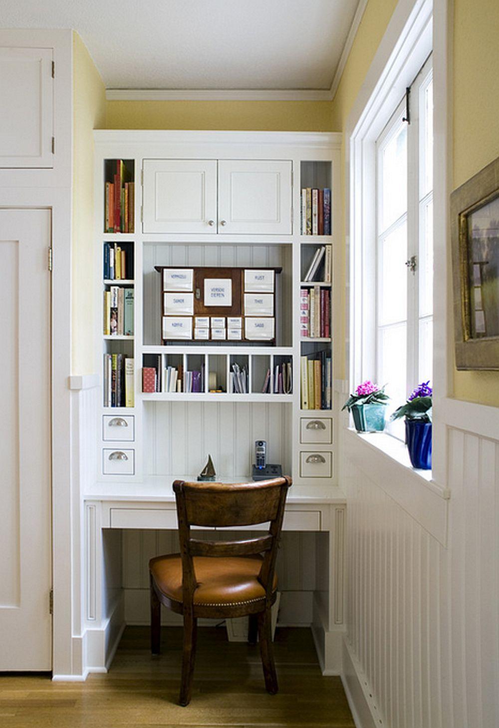 Pentru mai mult spatiu de depozitare foloseste-te de verticala spatiului disponibil. Foto Hamilton-Gray Design