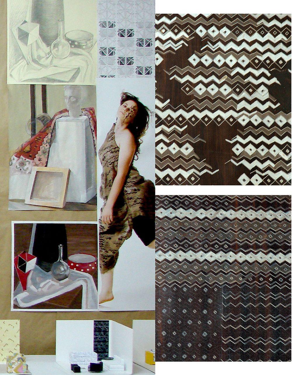 Expozitie de sfarsit de semestrul, Departament Arte si Design Textil UNArte