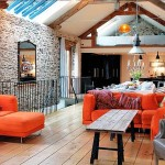 adelaparvu.com about Big Barn Larcombe Farm, open modern living in a rustic cottage, Photo Andreas von Einsiedel  (2)