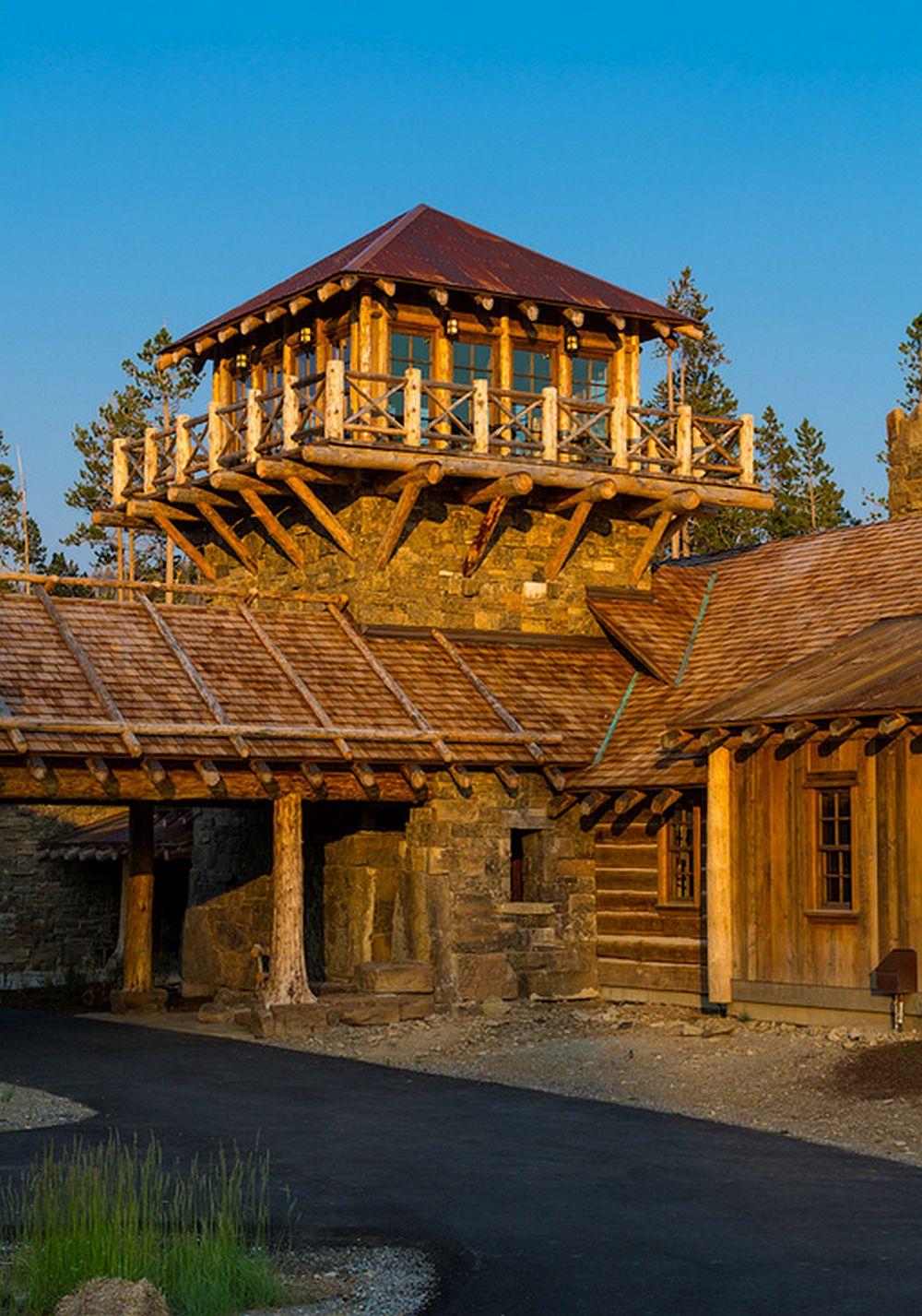 adelaparvu.com about Foxtail residence in Yellowstone Club, Big Sky, Montana, architect Faure Halvorsen Architects, Photo Karl Neumann (1)