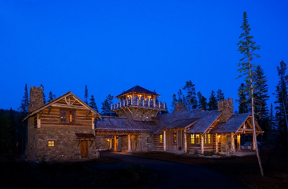 adelaparvu.com about Foxtail residence in Yellowstone Club, Big Sky, Montana, architect Faure Halvorsen Architects, Photo Karl Neumann (12)
