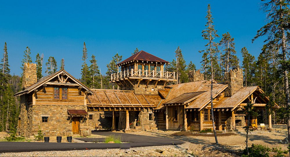 adelaparvu.com about Foxtail residence in Yellowstone Club, Big Sky, Montana, architect Faure Halvorsen Architects, Photo Karl Neumann (13)