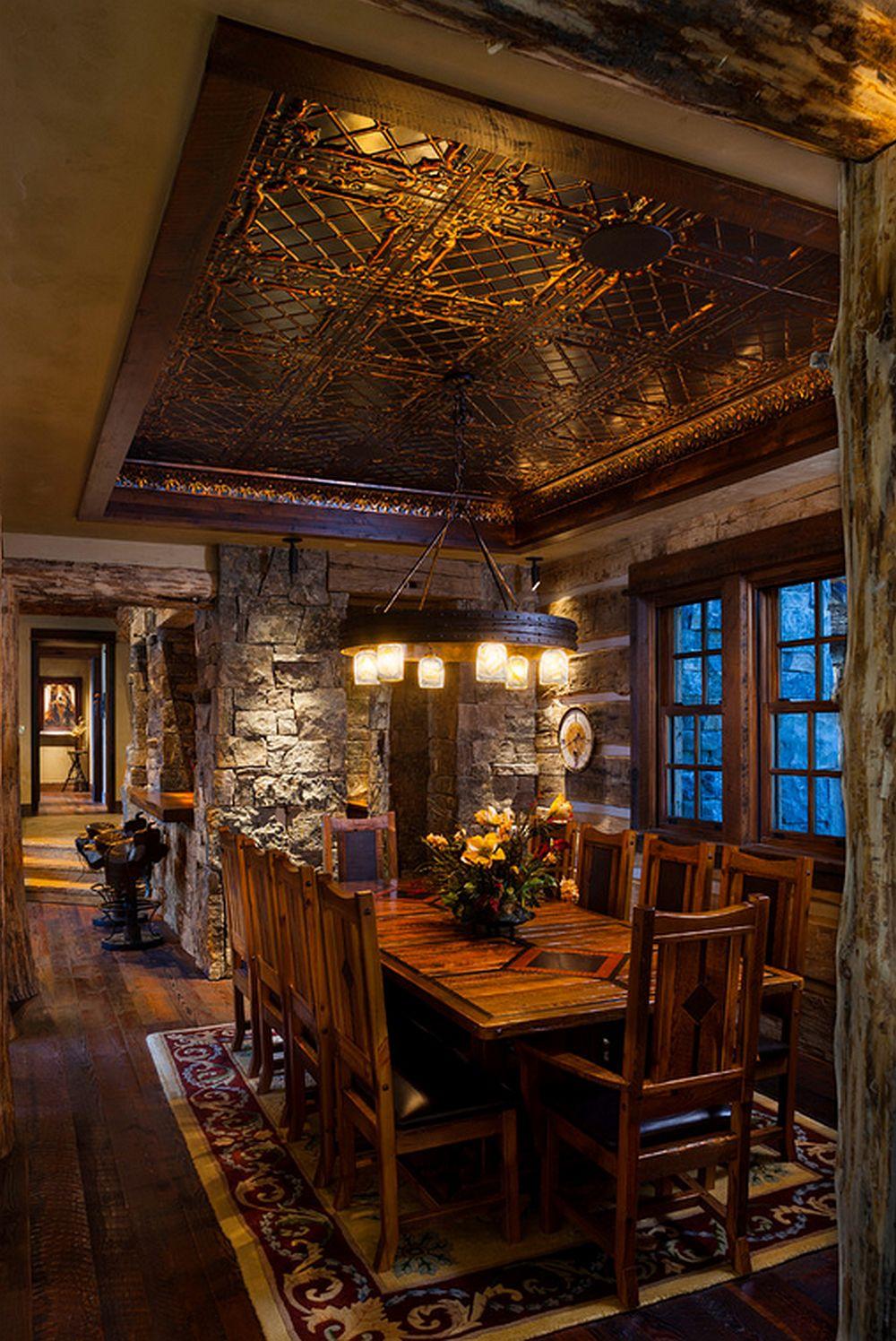 adelaparvu.com about Foxtail residence in Yellowstone Club, Big Sky, Montana, architect Faure Halvorsen Architects, Photo Karl Neumann (7)