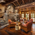 adelaparvu.com about Foxtail residence in Yellowstone Club, Big Sky, Montana, architect Faure Halvorsen Architects, Photo Karl Neumann (9)