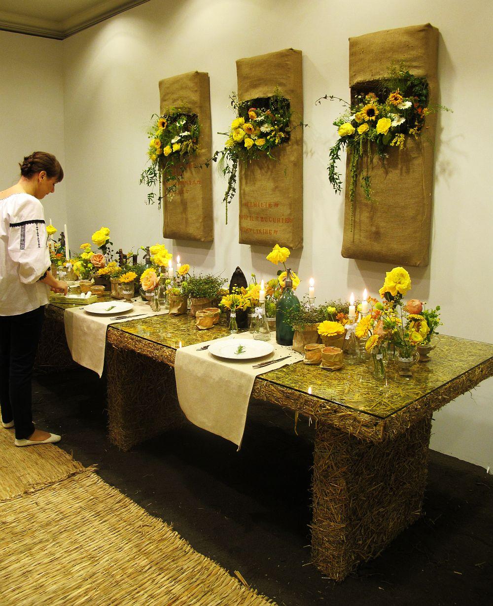 adelaparvu.com about Romanian wedding theme, Floraria Iris stand, floral designer Nicu Bocancea (11)
