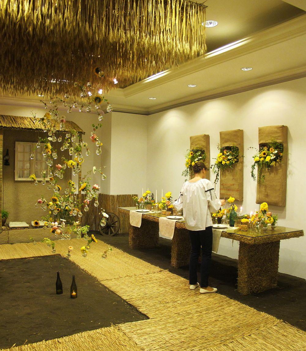 adelaparvu.com about Romanian wedding theme, Floraria Iris stand, floral designer Nicu Bocancea (18)
