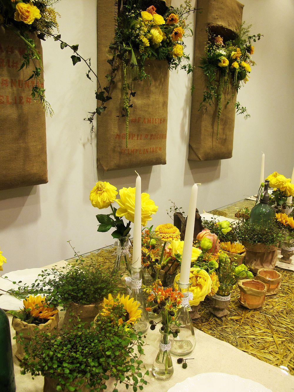 adelaparvu.com about Romanian wedding theme, Floraria Iris stand, floral designer Nicu Bocancea (20)