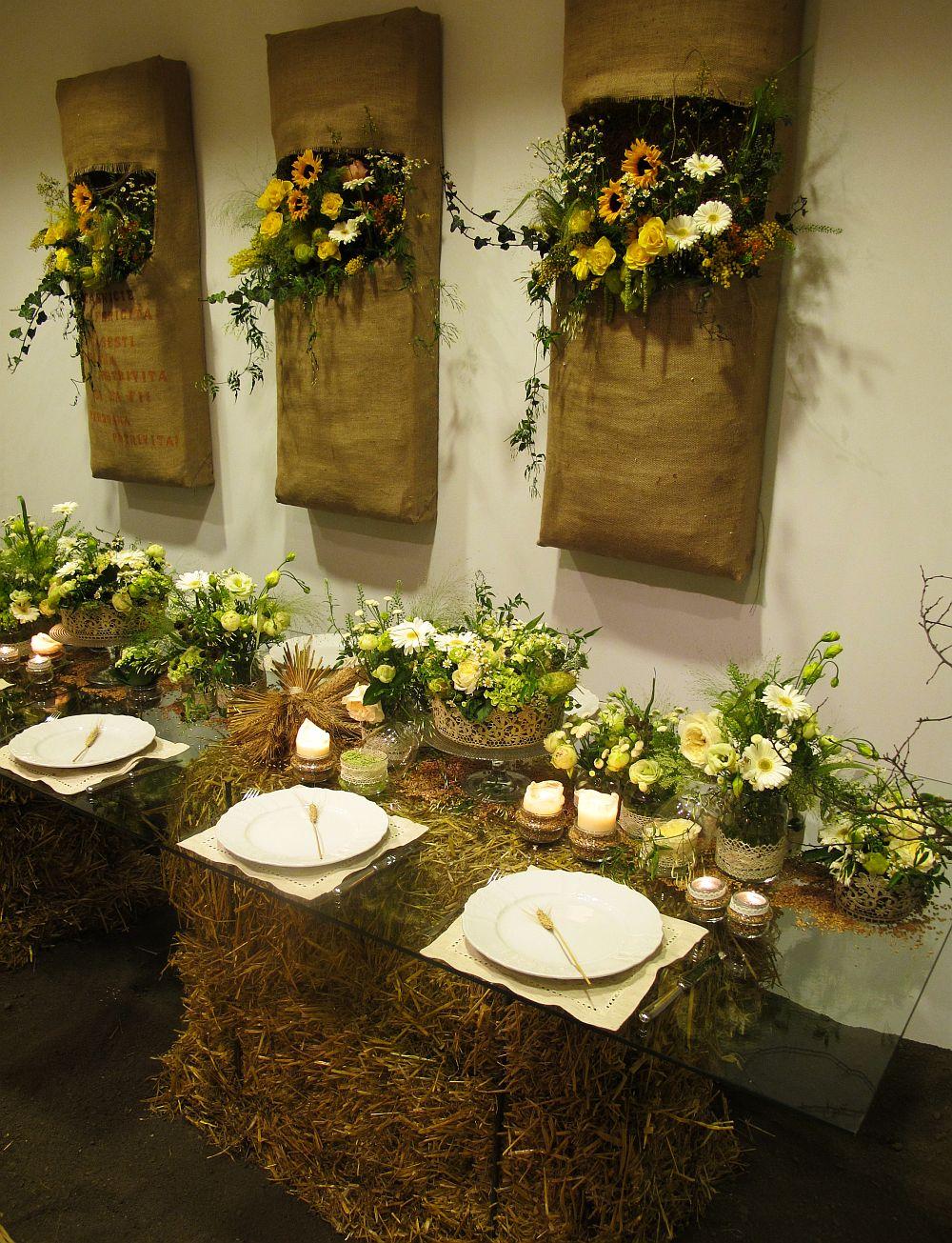 adelaparvu.com about Romanian wedding theme, Floraria Iris stand, floral designer Nicu Bocancea (5)