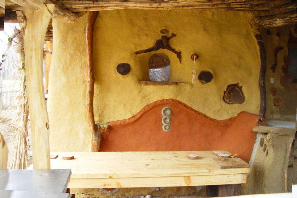adelaparvu.com about cob house in Romania Sasca Montana village, architect Ileana Mavrodin, Casa Verde, casa de lut (22)