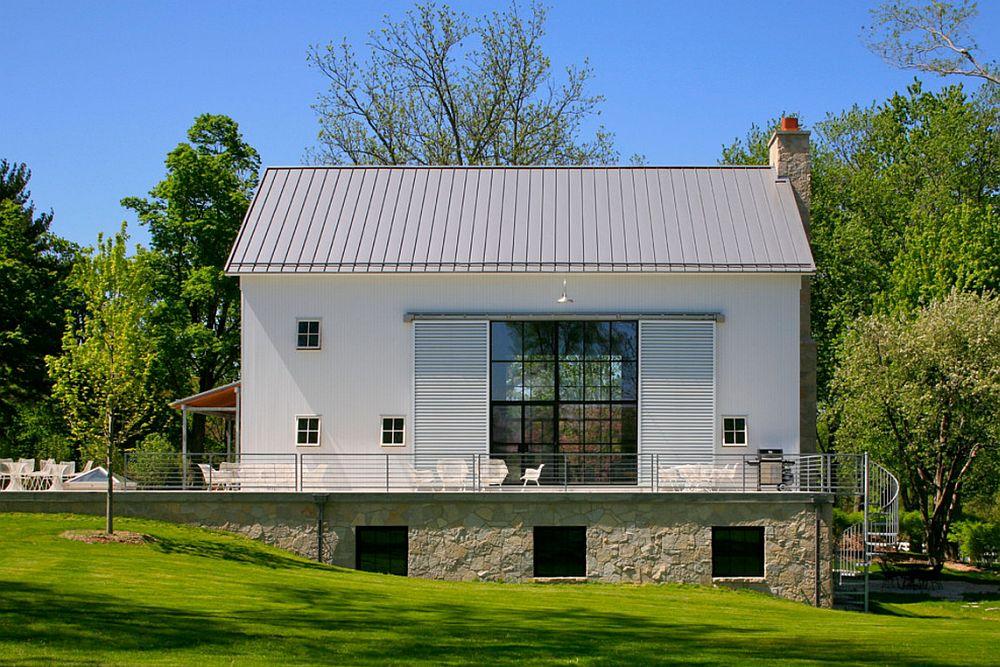 adelaparvu.com despre Michigan Barn, architect Austin DePree, Northworks Architects, hambar transformat in casa  (2)