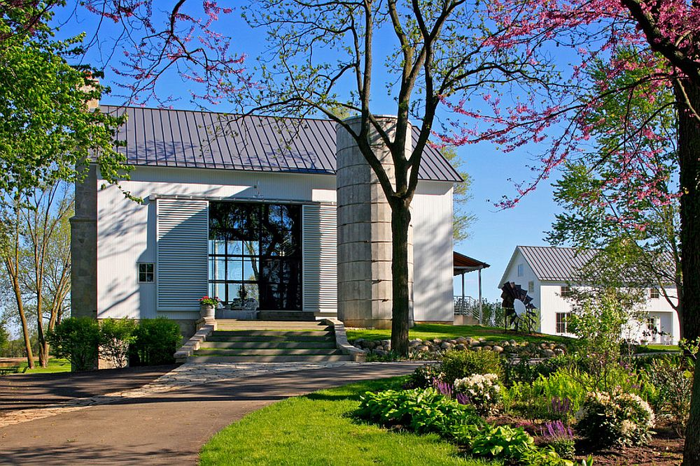 adelaparvu.com despre Michigan Barn, architect Austin DePree, Northworks Architects hambar transformat in casa cu piscina (3)