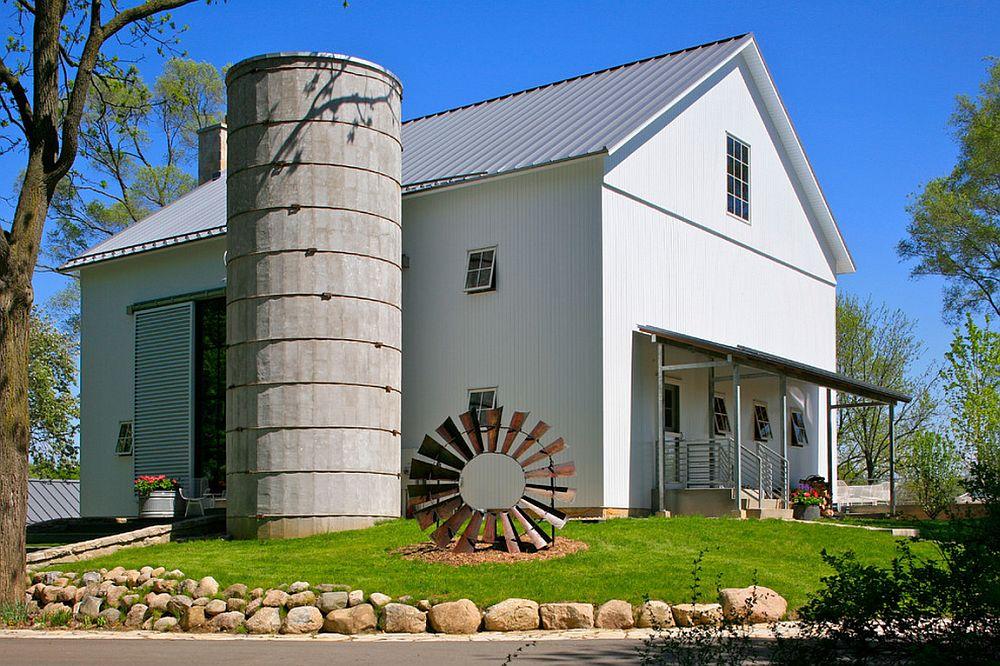 adelaparvu.com despre Michigan Barn, architect Austin DePree, Northworks Architects, hambar transformat in casa cu piscina  (4)