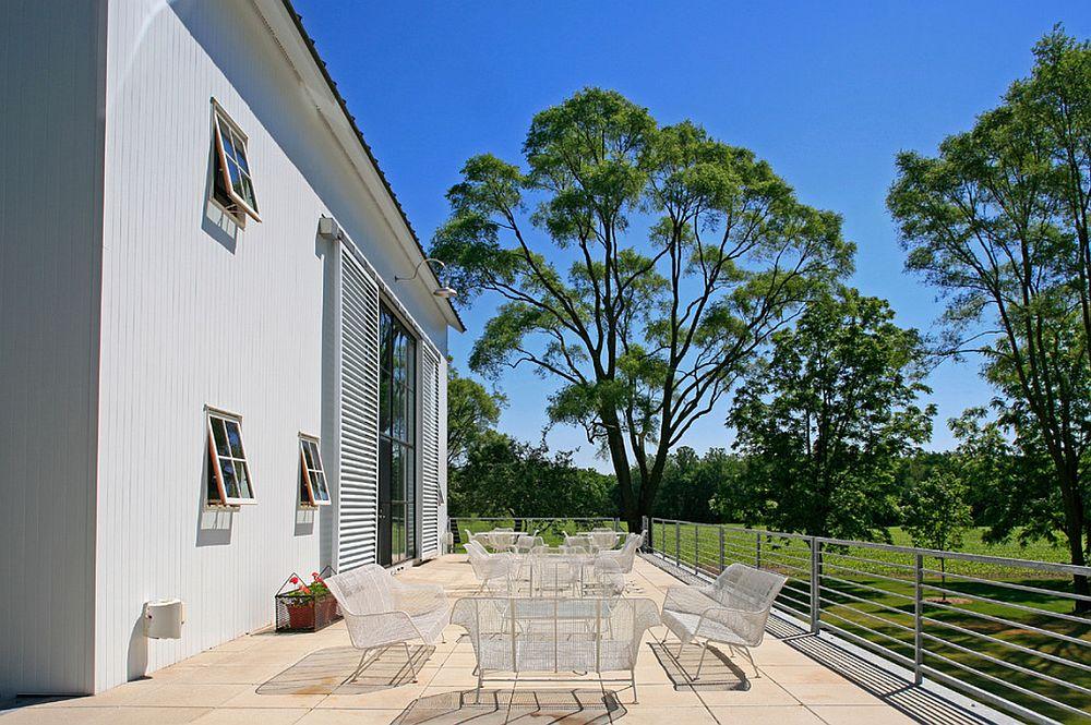 adelaparvu.com despre Michigan Barn, architect Austin DePree, Northworks Architects, hambar transformat in casa cu piscina  (5)