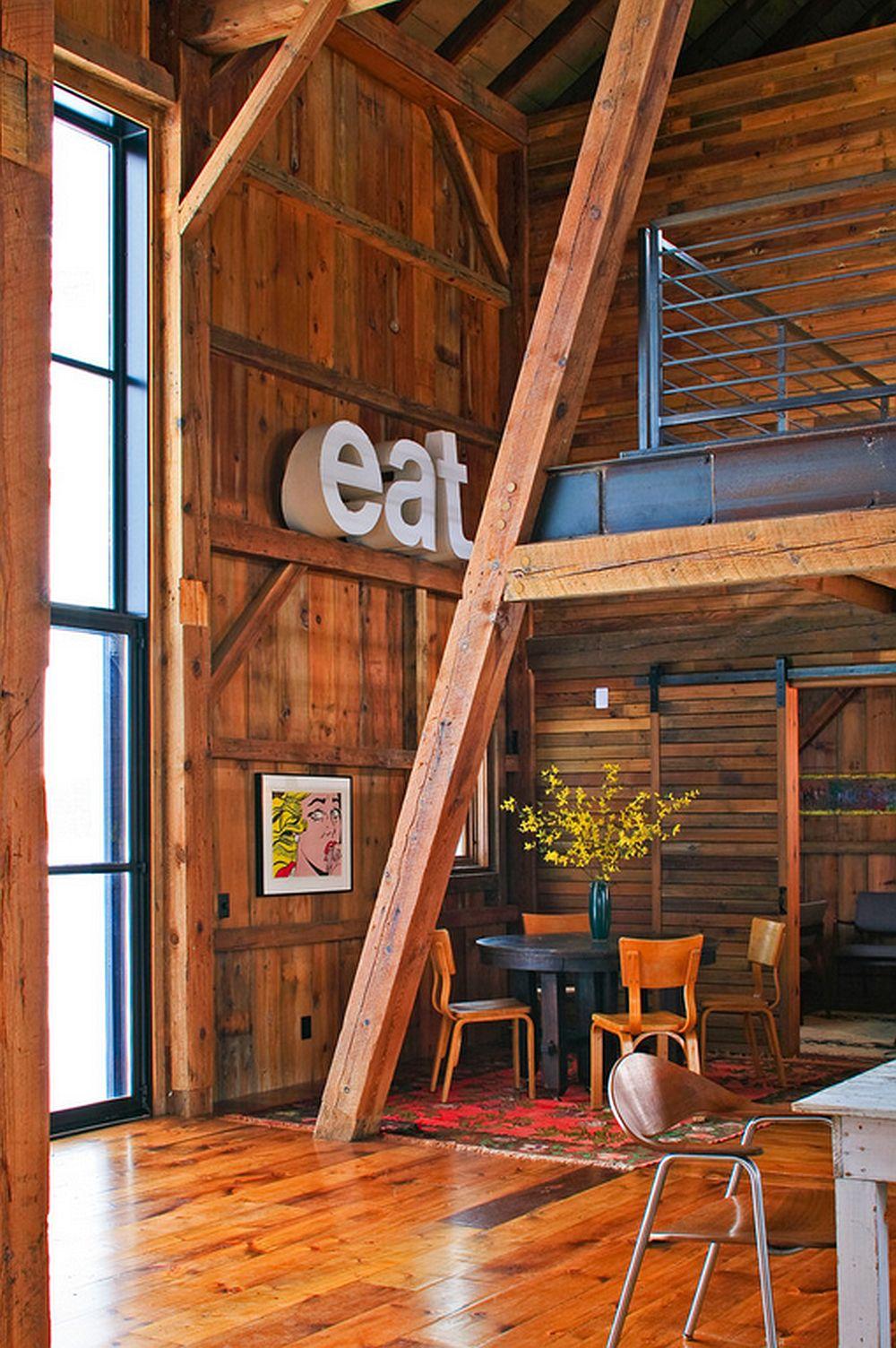 adelaparvu.com despre Michigan Barn, architect Austin DePree, Northworks Architects, interior hambar modernizat  (6)