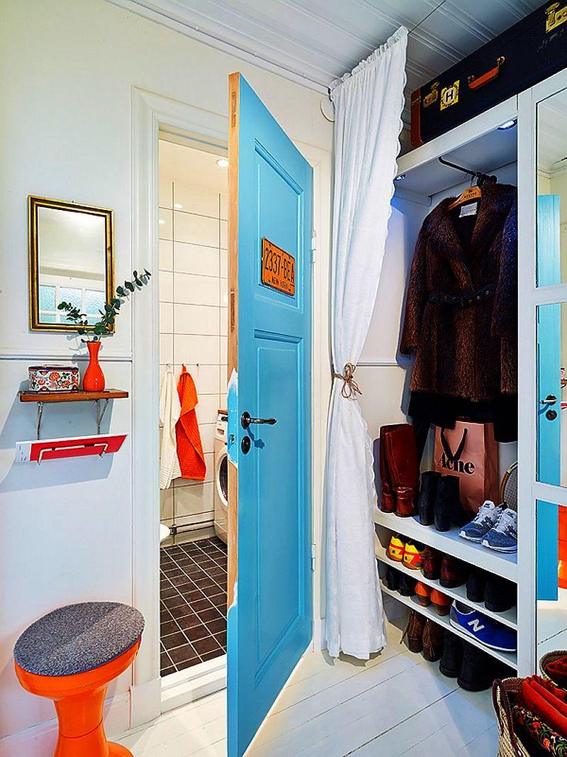 adelaparvu.com despre apartament de doua camere cu aer de casa la curte, Foto Jonas Berg (3)