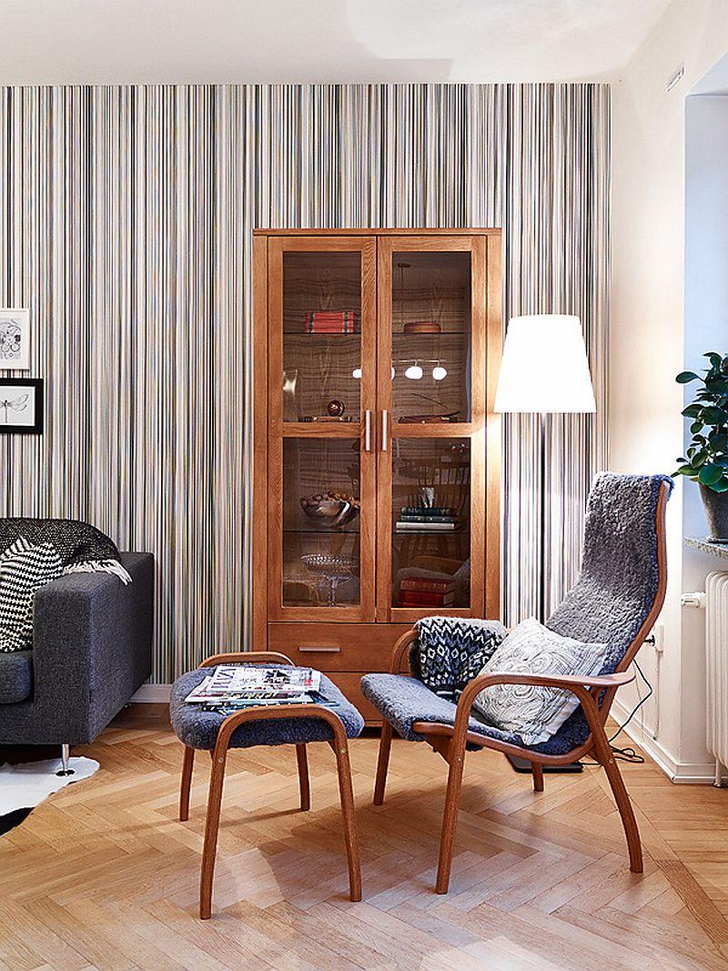 adelaparvu.com despre apartament de doua camere, loc de lectura in living, Foto Jonas Berg (3)