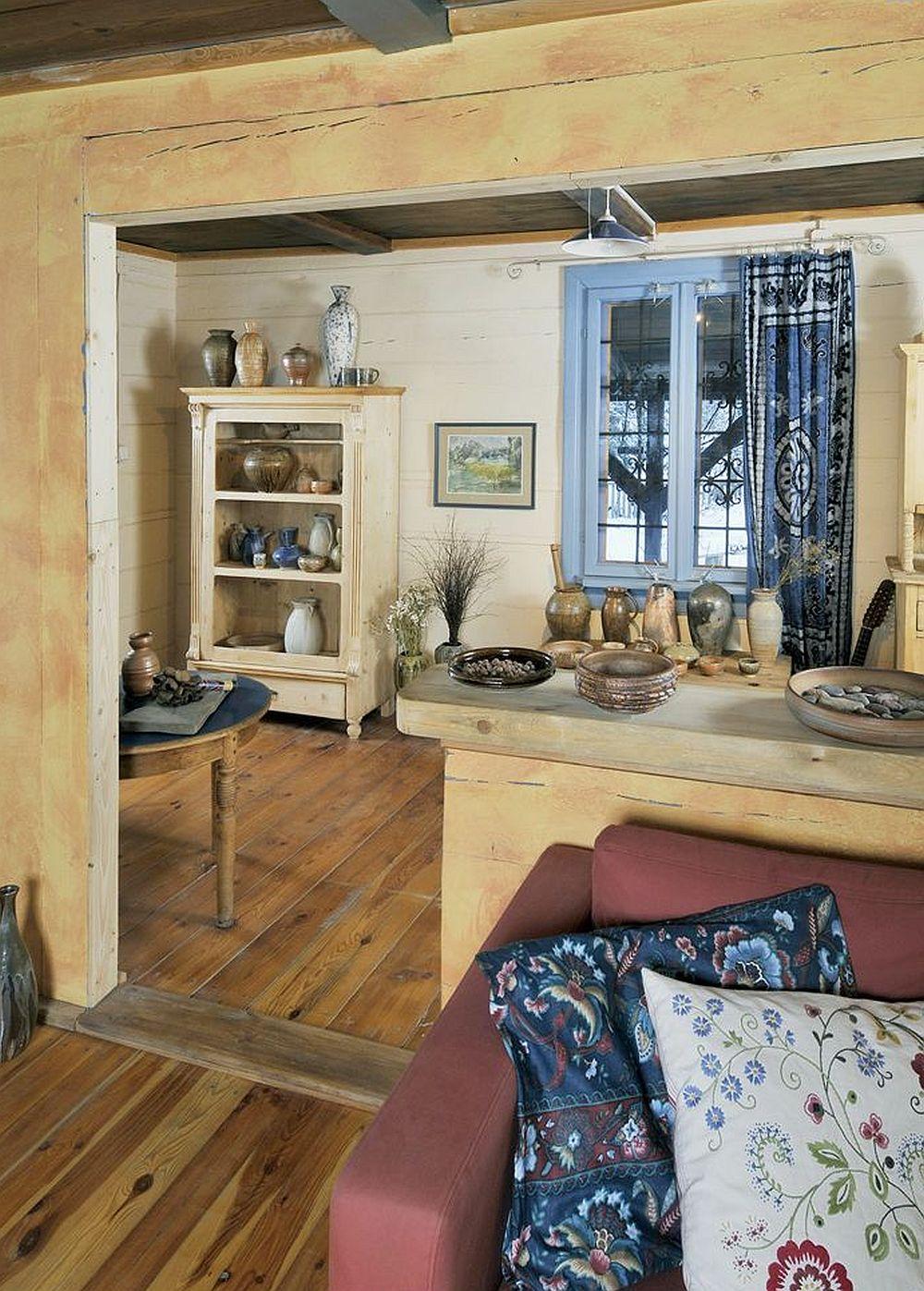 adelaparvu.com despre casa artistilor Marta Kedzierska si Jacek Tratkiewicz Foto Marek Szymanski, casa rustica interior (7)