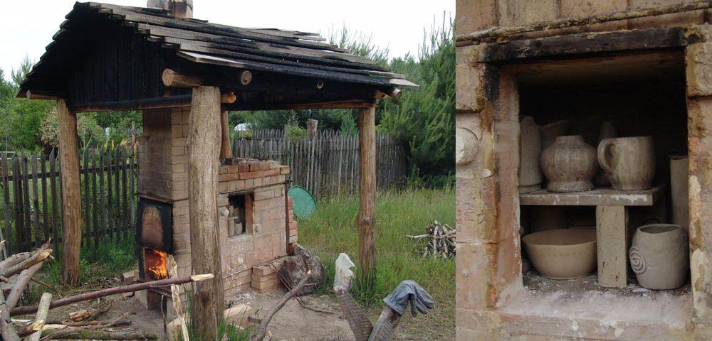 adelaparvu.com despre casa artistilor Marta Kedzierska si Jacek Tratkiewicz Foto Marek Szymanski, cuptor ceramica raku (13)