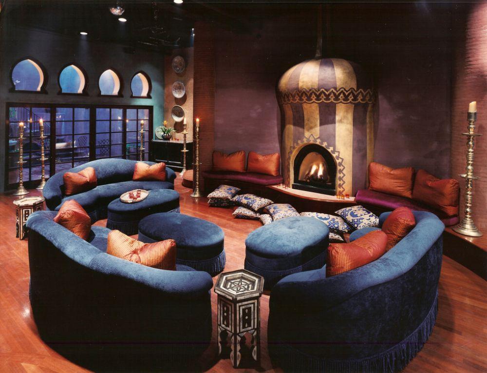 adelaparvu.com despre casa in stil marocan, maroccan kasbah, design interior Barry Johnson, arh Louie Leu, Foto Sharon Risedorph (11)