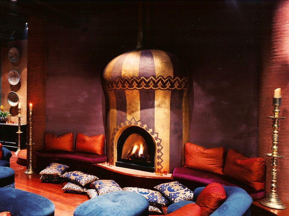 adelaparvu.com despre casa in stil marocan, maroccan kasbah, design interior Barry Johnson, arh Louie Leu, Foto Sharon Risedorph (12)