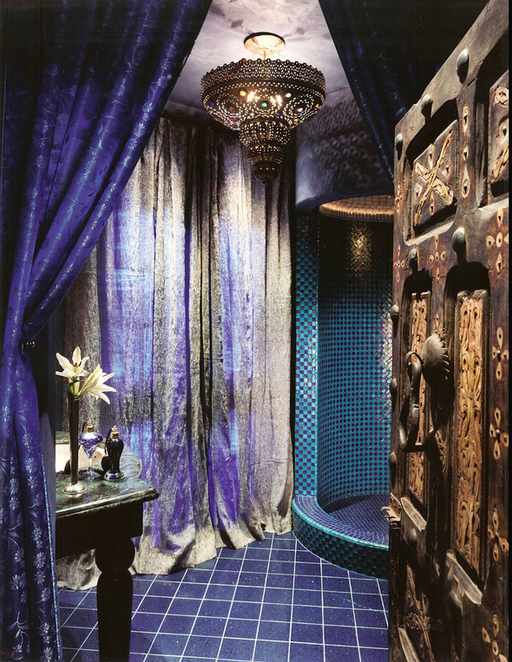 adelaparvu.com despre casa in stil marocan, maroccan kasbah, design interior Barry Johnson, arh Louie Leu, Foto Sharon Risedorph (4)