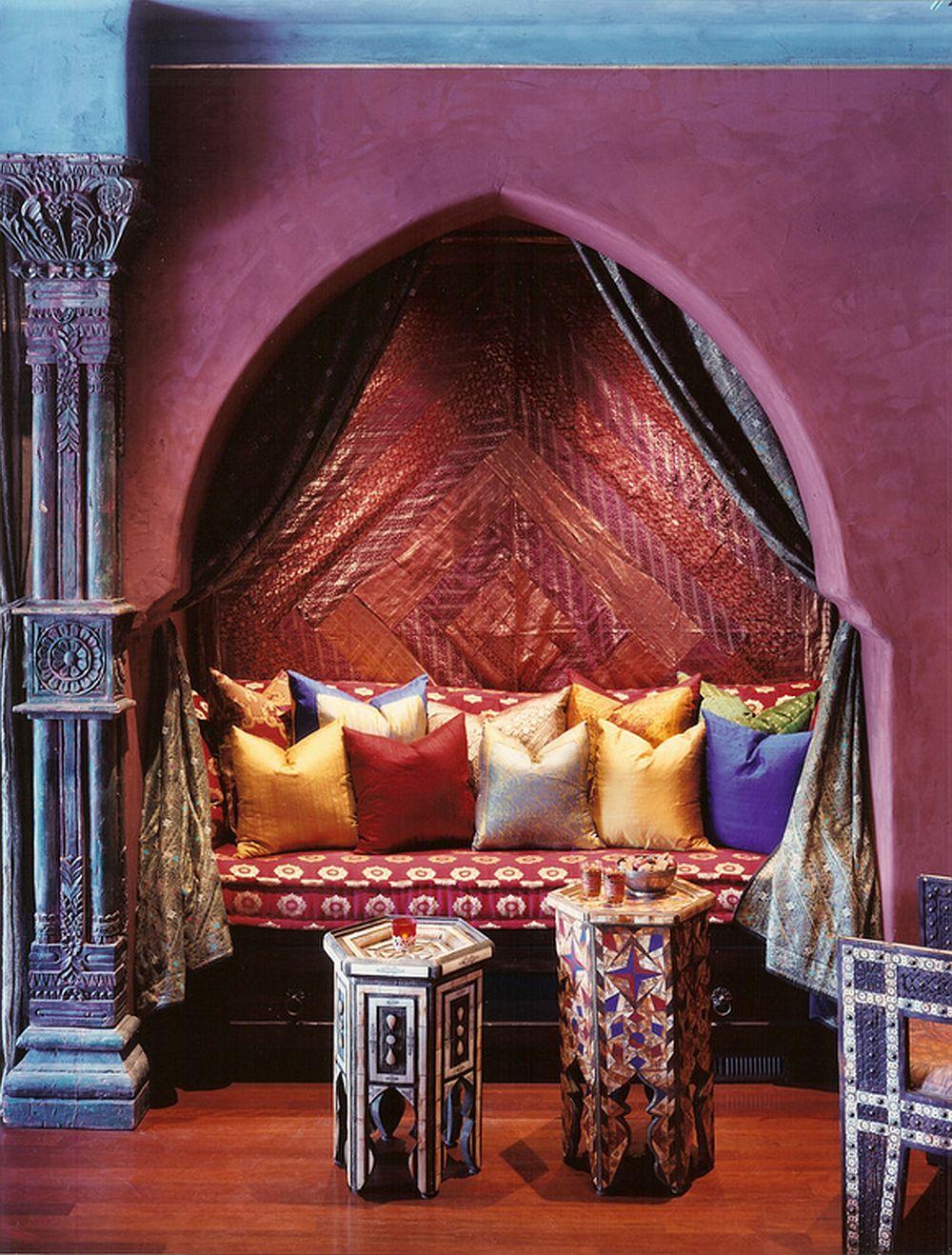 adelaparvu.com despre casa in stil marocan, maroccan kasbah, design interior Barry Johnson, arh Louie Leu, Foto Sharon Risedorph (5)