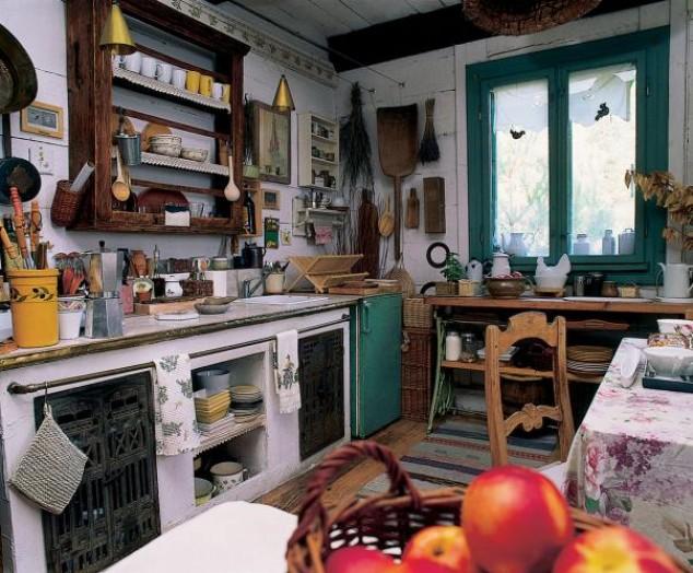adelaparvu.com despre casa la tara de poveste, bucatarie rustica (5)