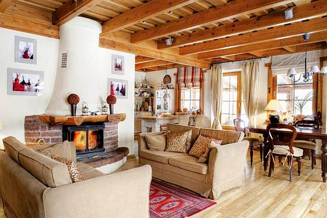 adelaparvu.com despre casa rustic eleganta, designer Beata Michalak (1)