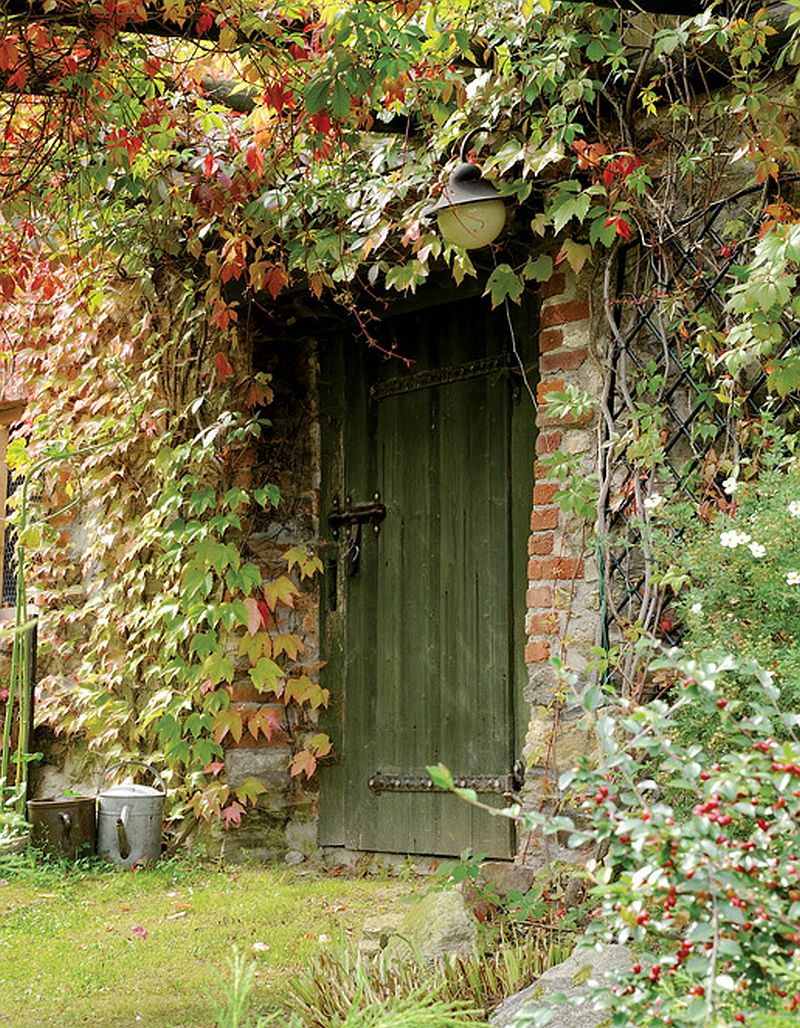 adelaparvu.com despre casa rustica cu atelier de pictura si studio muzical, Foto Jacek Kucharczyk, Weranda Country (17)