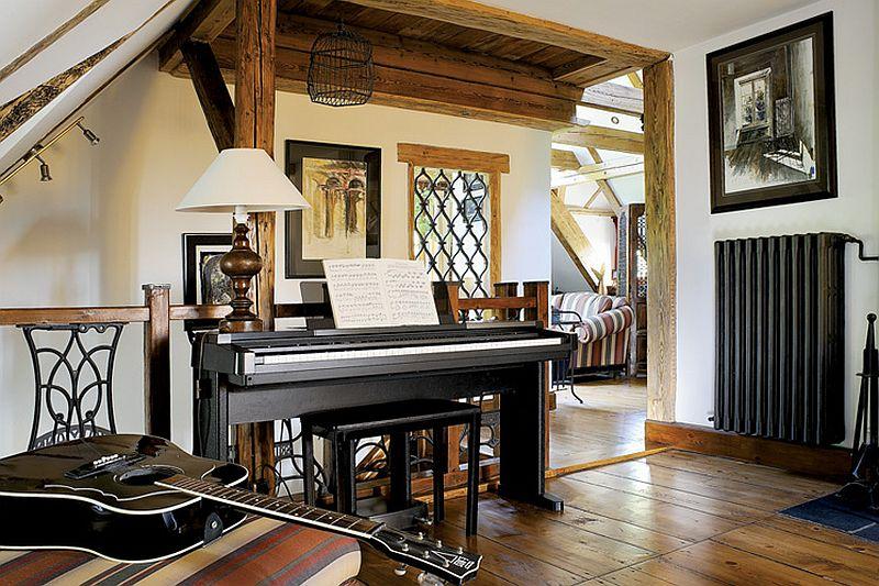 adelaparvu.com despre casa rustica cu atelier de pictura si studio muzical, Foto Jacek Kucharczyk, Weranda Country (2)