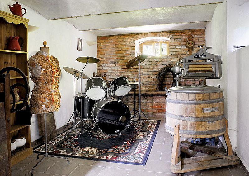 adelaparvu.com despre casa rustica cu atelier de pictura si studio muzical, Foto Jacek Kucharczyk, Weranda Country (7)