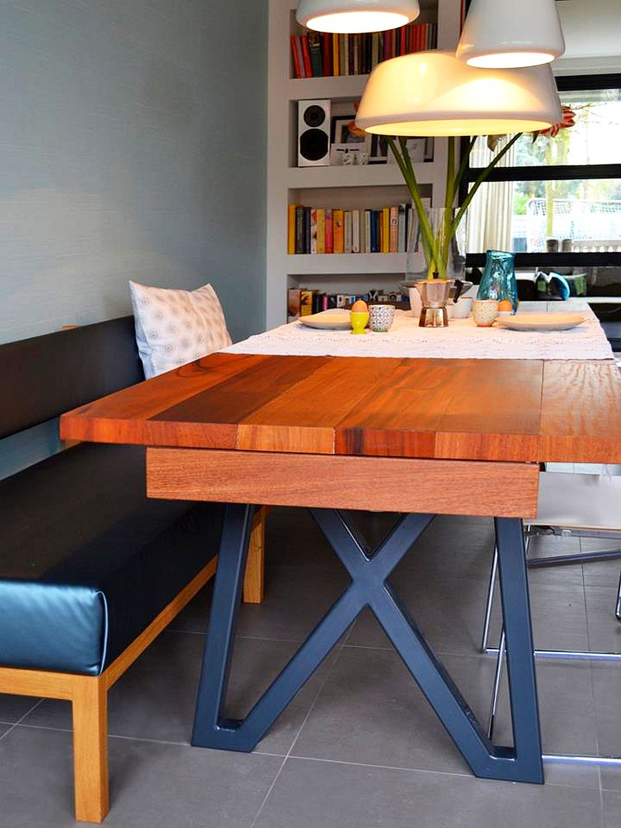 adelaparvu.com despre garaj transformat in living si bucatarie, design interior Viva Vida (3)