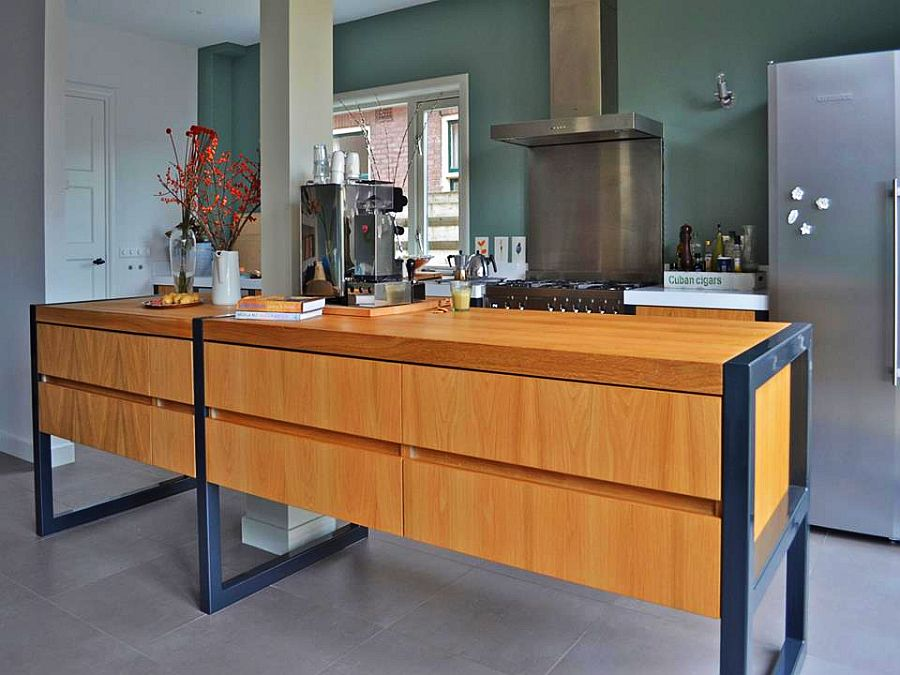 adelaparvu.com despre garaj transformat in living si bucatarie, design interior Viva Vida (4)