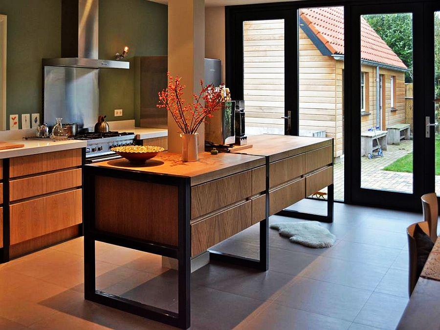 adelaparvu.com despre garaj transformat in living si bucatarie, design interior Viva Vida (5)